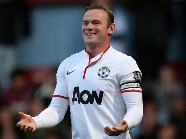 Rooney at the double for United