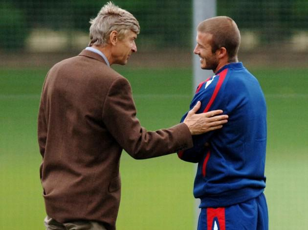 Wenger once had Becks in his sights