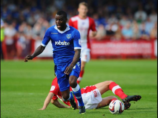 Pompey beat nine-man Crawley