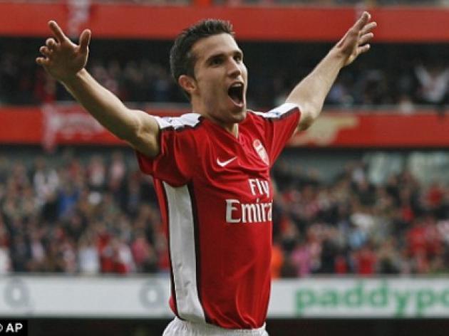 Robin van Persie in line for shock Tottenham return: Arsenal star set for north London derby