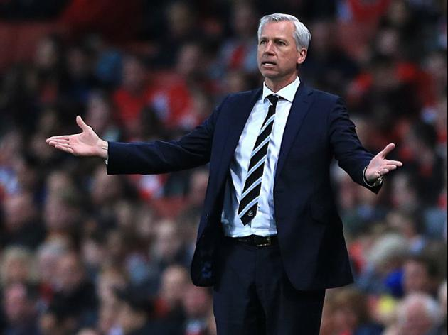 Pardew focused on Liverpool trip