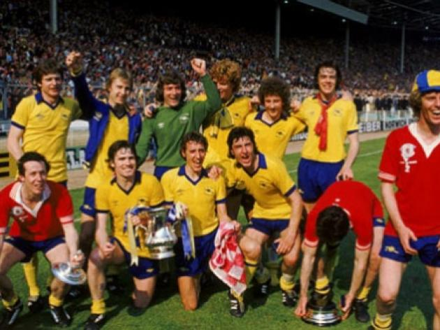 Top 10: Greatest FA Cup finals - 3 - Arsenal 3 Manchester United 2 - 1979