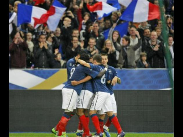 France squad for Germany friendly