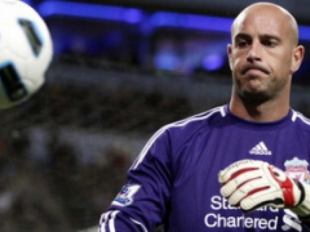 Schmeichel wants Reina at OT