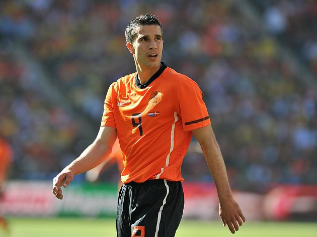 RVP to miss Holland friendlies