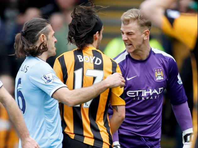 Joe Hart to face no action over Boyd clash