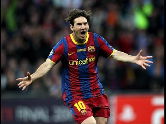 Messi bags Ballon d'Or hat-trick