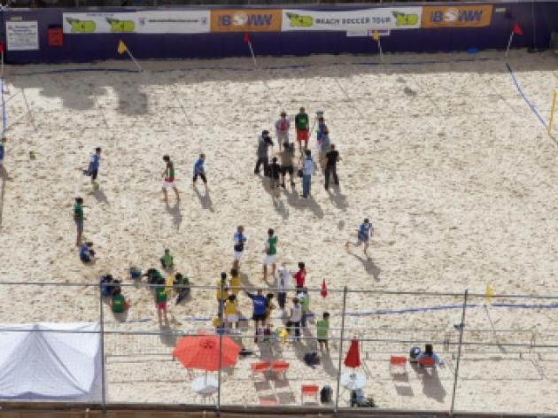Disney XD Beach Soccer Tour in London