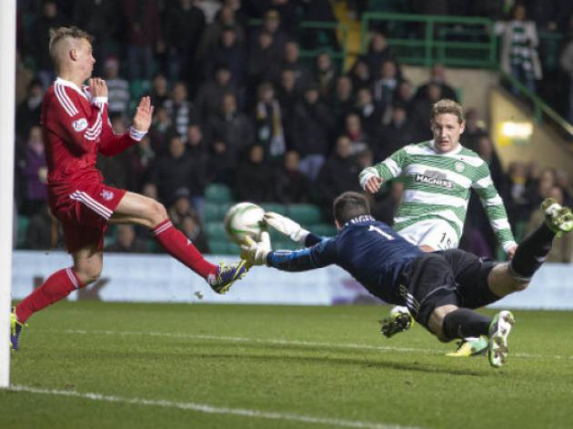 Celtic leave it late against Aberdeen