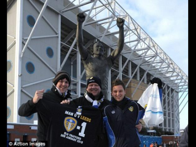 Leeds were marching on together then along came Wycombe to stop them