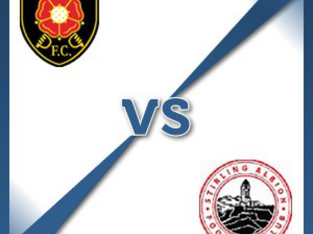 Stirling Albion away at Albion Rovers - Follow LIVE text commentary