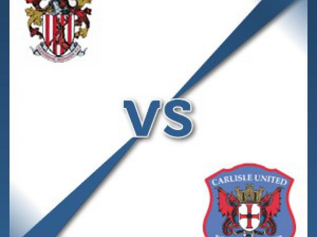 Stevenage Borough V Carlisle United - Follow LIVE text commentary