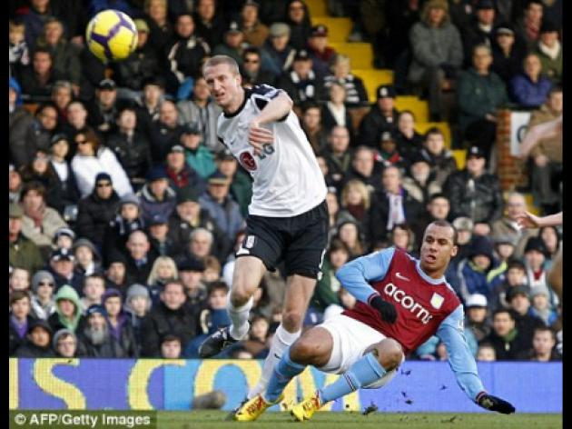 Fulham 0 Aston Villa 2: Agbonlahor at the double as Villa claim fine victory