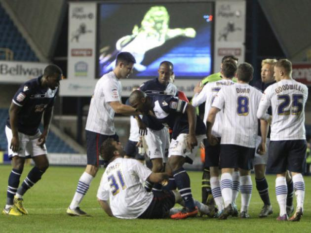 Millwall slip closer to the drop after defeat