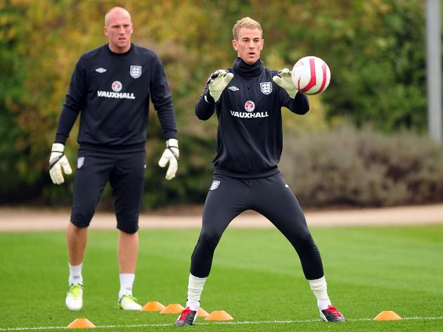 Ruddy: Hart's the number one