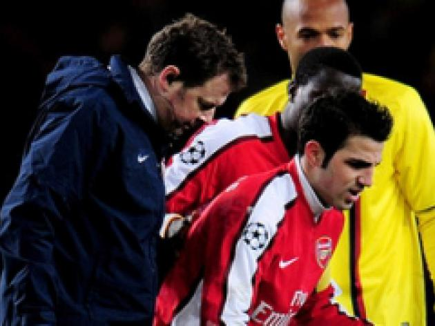 Gunners physio confident on Cesc
