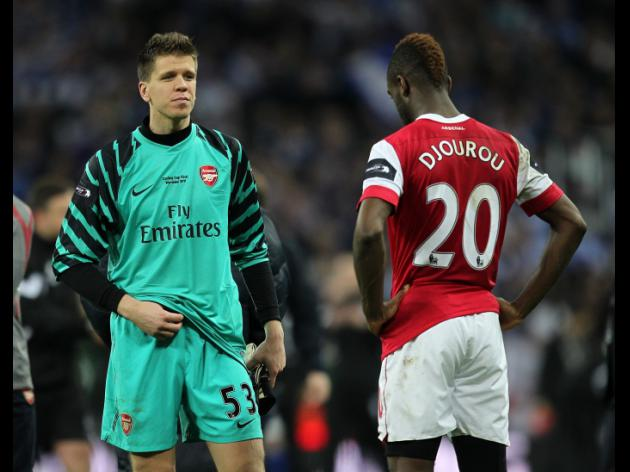 Arsenal hopeful over Djourou and Szczesny