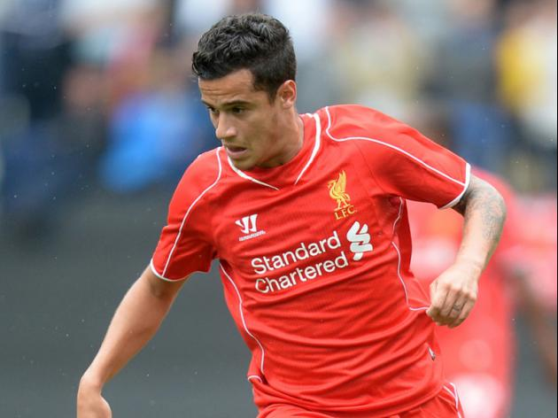 Coutinho form excites Liverpool boss Rodgers
