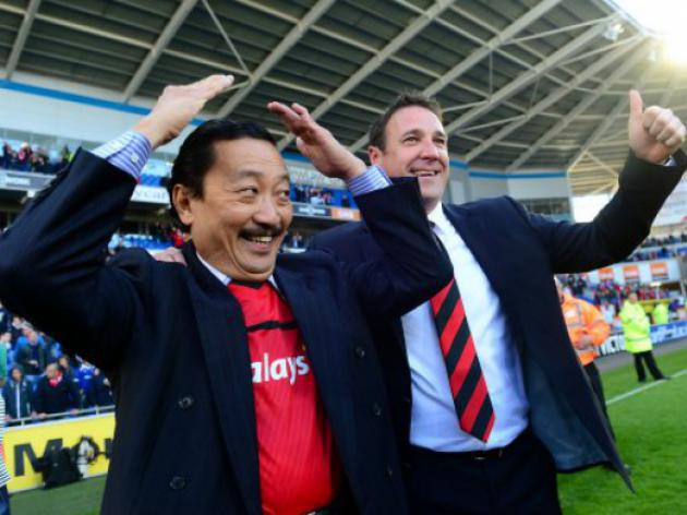 Cardiff boss Mackay wont get Tan transfer support