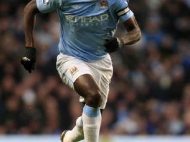 MAN CITY v Portsmouth: Kolo Toure returns to squad but Patrick Vieira still out