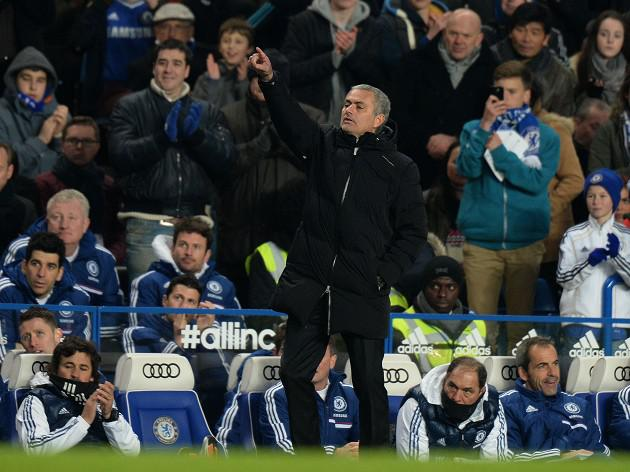 Chelsea failings exhaust Mourinho