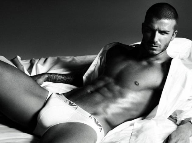 David Beckham in his pants: On tour with Manchester City