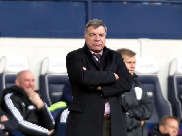 Allardyce gives backing to Sherwood