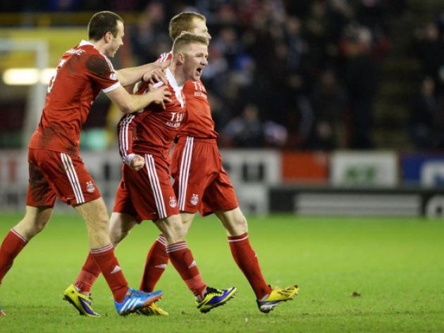 Bogey team Aberdeen end Celtics unbeaten run