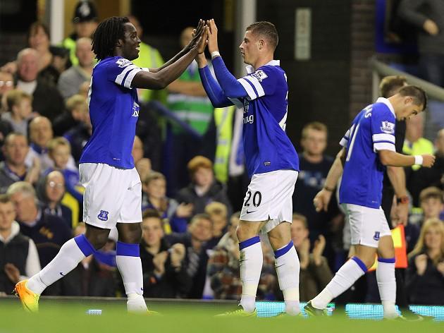 Lukaku fires Everton to victory