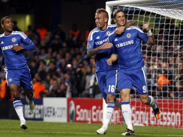 Chelsea 5 Genk 0: Torres at the double as Blues cruise past hapless Belgians