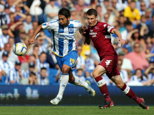 Brighton 1-2 Derby: Match Report