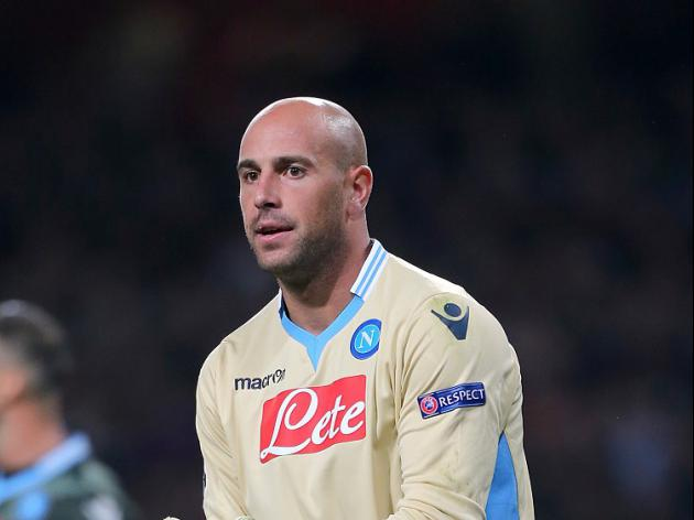 On-loan Keeper Reina unsure over Liverpool future