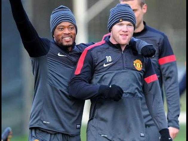 No rest for Wayne Rooney as Manchester derby looms