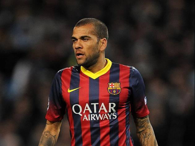 Alves surprised by support