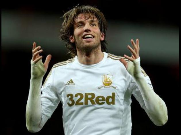 Michu commits to Swansea