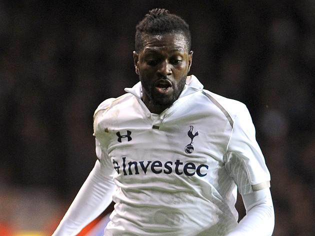 William Edjenguele enjoyed the experience against Spurs and Adebayor