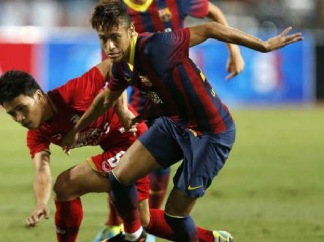 Barcelona end Asia tour with win over Malaysia XI