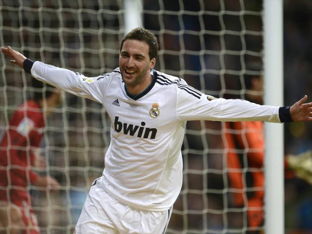 Arsenal agree personal terms with Real Madrid striker Higuain