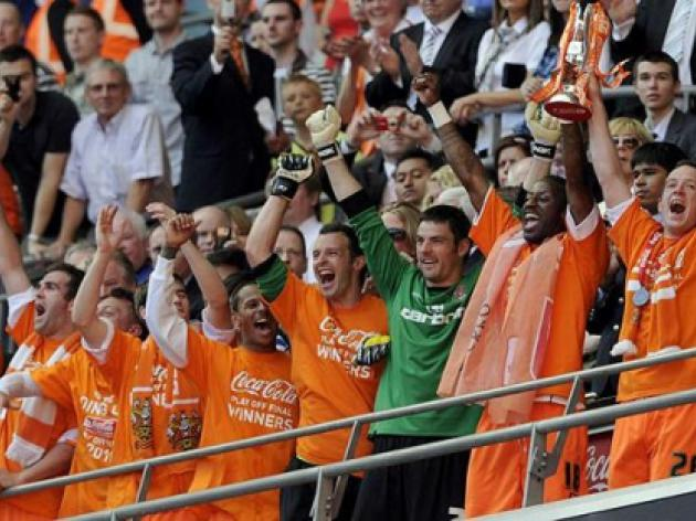 Blackpool and West Ham - play-off final history