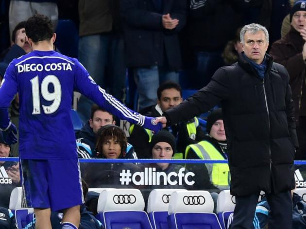 Jose Mourinho claims Diego Costa's stamps were accidental, internet doesn't agree - video