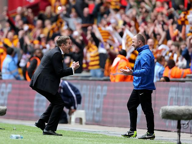 Lawn: Parkinson the man for Bantams