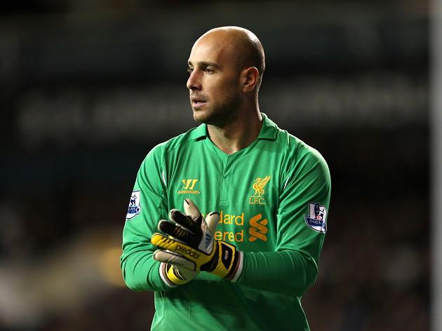 Reina happy to remain with Reds