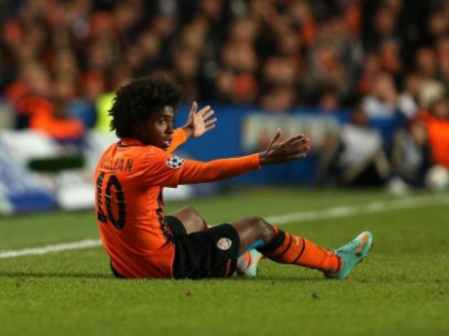 Chelsea and Tottenham on alert with Willian ready for Shakhtar exit
