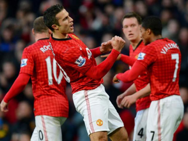 Robin van Persie breaks new goal-scoring record at Manchester United