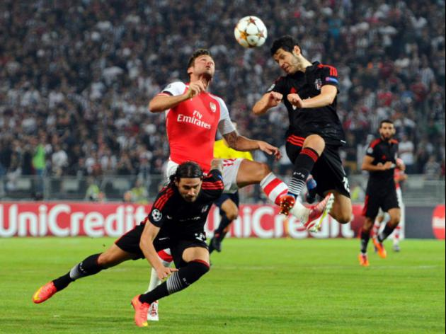 Positives from Arsenal's draw against Besiktas