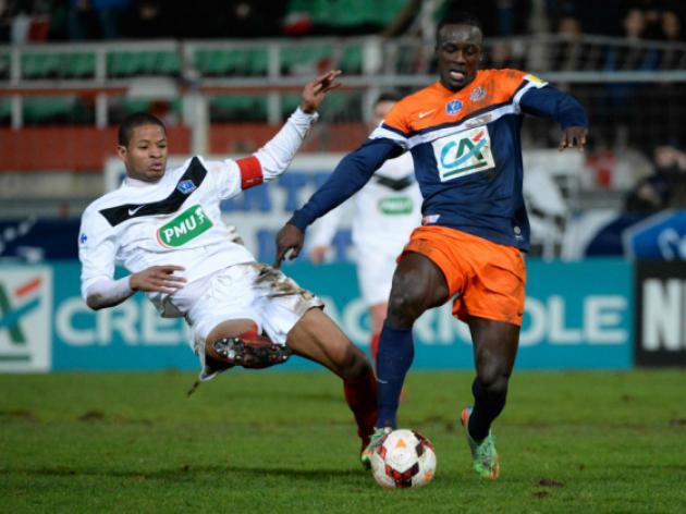 Cannes stun Montpellier, Lille avoid Cup upset
