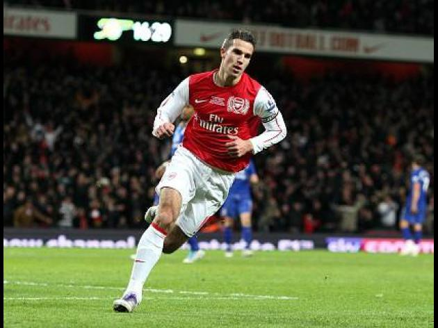 Leading English Premier League scorers - 18-12-2011