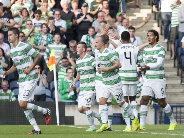 Celtic cruise in CL qualifier