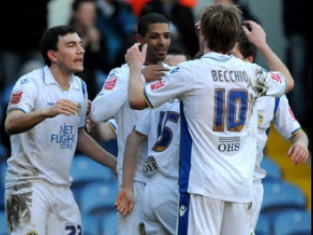 Beckford brace seals Leeds victory