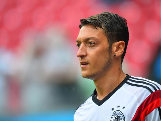 Ozil out of Argentina friendly